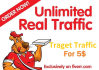50000 Human Traffic by Google Facebook Twitter Pinterest etc
