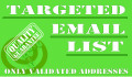 provide You targeted email list