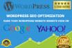 seo Optimize Wordpress Websites
