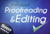 proofread and edit in english language