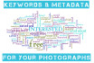 write keywords and metadata for your photographs and pictures