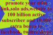 promote your mlm link,solo ads, website, to billions targeted active subscriber