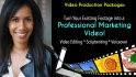 create Professional Business Video with Editing and Scriptwriting