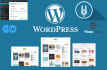 design,customize or modify WORDPRESS website, theme