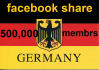 promote your Link to 500,000 GERMANY Facebook groups Members