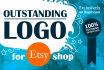 create logo design for your ETSY shop