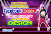 professional Facebook Header high quality modern design