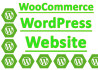 install, Setup and Modify WooCommerce Online Store Website
