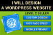 make a Wordpress website for your business