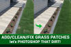 add grass or fix grass on your images