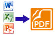 convert PDF to word excel powerpoint etc and viseversa