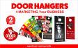 create Alluring Door Hanger for Marketing