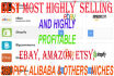 research any ecommerce niche that is highly selling and highly profitable
