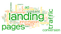 create a Landing page for your website