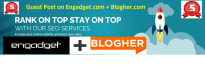 write and publish Guest Post On the ENGADGET, Blogher