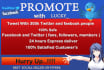 promote Website With Millions of American People for Website Promote