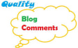 write 5 well researched blog comments on your blog or website