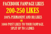 get you 200 facebook permanent likes