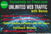 drive UNLIMITED social web traffic to your website