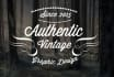 design a PROFESSIONAL vintage logo with super fast delivery