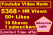 promote Youtube Video to REAL Viewers