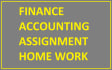 do Accounting and FINANCE