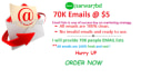 give you 70K US,uk email lists