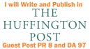 guest Post on Huffingtonpost