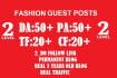 published your content on DA 50 pa 50 Fashion Blogs