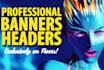 make any  banner for you
