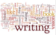 write on the word  anything u want or rewrite image content on the word