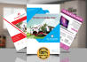design Outstanding creative Flyer, Leaflet PRiNT READY