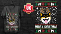 design an awesome ugly christmas sweater and T shirt