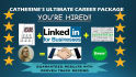 write a Complete Career Package for Resume, LinkedIn and Cover Letter