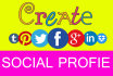 create social media account for your business profile