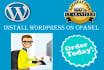 quickly migrate large wordpress website
