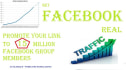 promote Your Link to 15 Million Social Media Members
