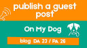 publish a guest post on my dog blog with dofollow link
