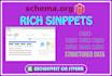 do rich snippets, microdata, Schema markup, jsonld