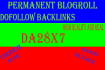 give you 7 sites, DA 28 permanent blogroll