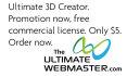 create a 3D book logo