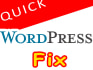 fix wordpress website issue