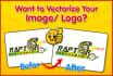 vectorize, convert your logo into vector