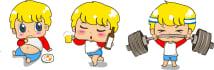 draw adorably cute and kawaii vector clip art