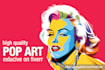 draw Master pop art high quality vector my style