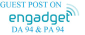 do guest posts on Engadget DA94 PA94
