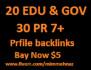 get 20 Edu Gov and 30 PR9 to PR7 new profile link