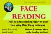 do a face reading using MIANXIANG technique