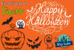 design a Halloween flyer,cards,logo,cover in 24h