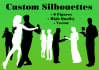 design 6 custom and professional silhouettes